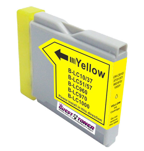 Brother LC-51Y Yellow compatible ink - Buy Direct!