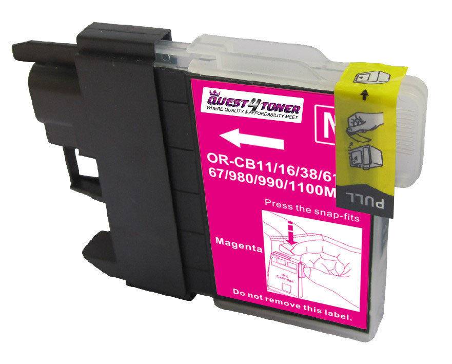 Brother LC-61M Magenta compatible ink - Buy Direct!