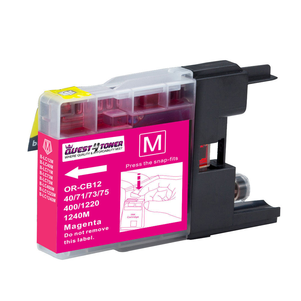 Brother LC-75M Magenta compatible ink - Buy Direct!