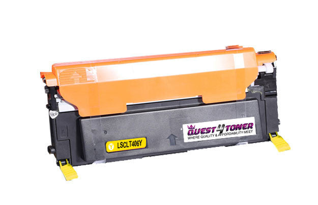 Samsung Y406S <font color='Yellow'><b>Yellow</b></font> compatible  toner  designed for  Samsung- Buy Direct!