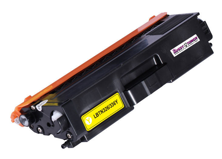 Brother TN-336Y Yellow compatible toner - Buy Direct!