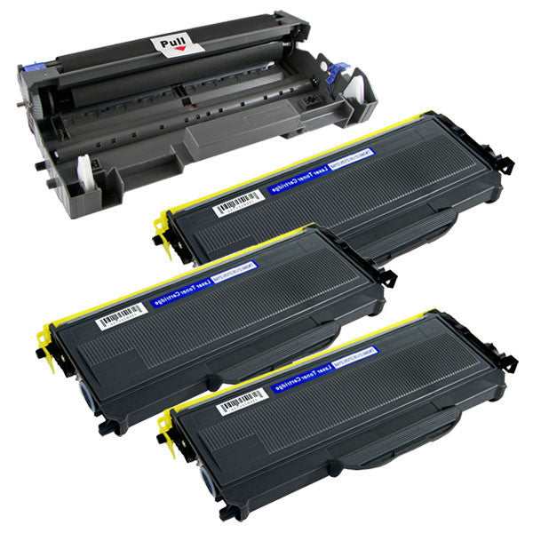 Brother TN-350 4pk  compatible toner - Buy Direct!