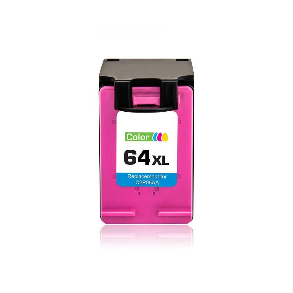 Compatible HP 64XL N9J91AN Tri-color Ink Cartridge High Yield