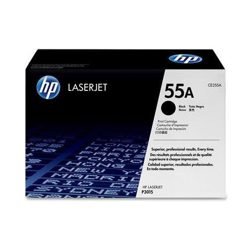 Original OEM HP 55A Black Toner Cartridge (CE255A)