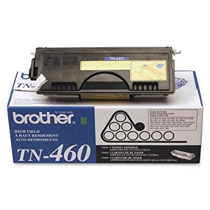 Brother Genuine OEM TN460 (TN-460) Black High-Yield Toner Cartridge (6K YLD)