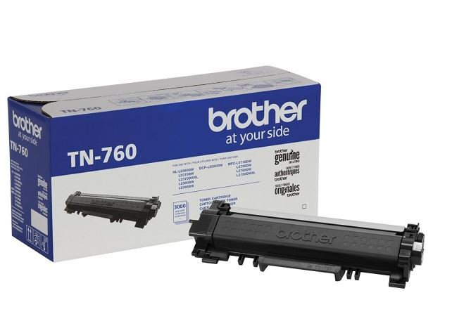 TN760 Genuine Brother HY Toner Cartridge, 3K pages, Black