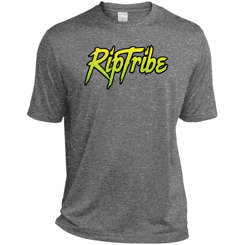 RipTribe  Men's TALL Heather Dri-Fit Moisture-Wicking T-Shirt