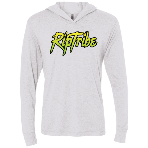 RipTribe  Men's RipTribe Triblend LS Hooded T-Shirt