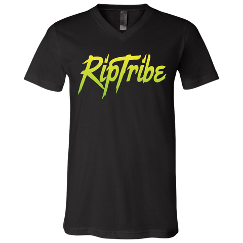 Men's RipTribe Jersey SS V-Neck T-Shirt