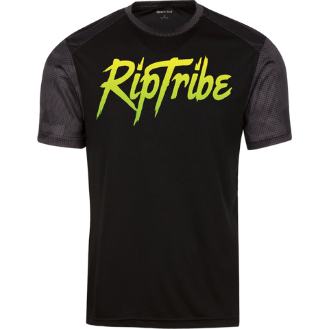 Men's RipTribe CamoHex Colorblock T-Shirt