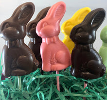 Load image into Gallery viewer, Chocolate Bunny Lollipops