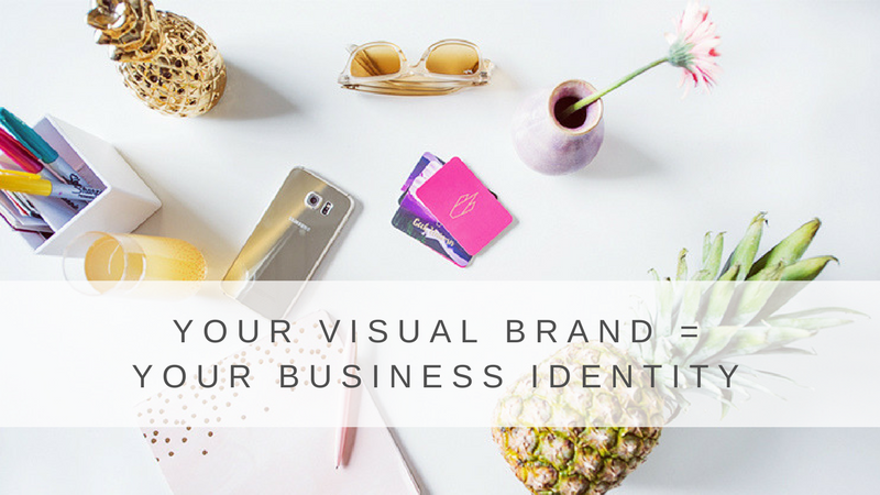 Your Visual Brand = Your Business Identity