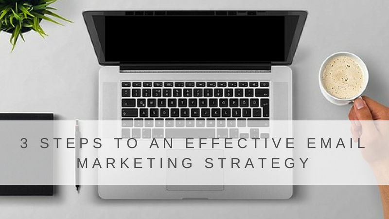 3 Steps to an Effective Email Marketing Strategy