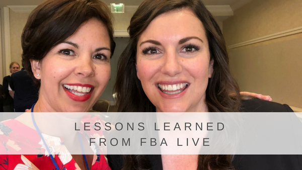 Lessons Learned at FBA Live