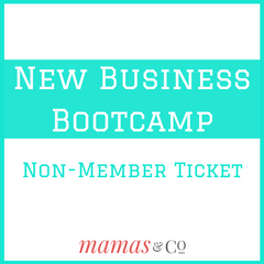 New Business Bootcamp ticket