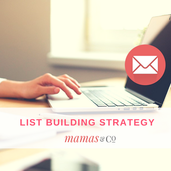 Webinar: List Building Strategy