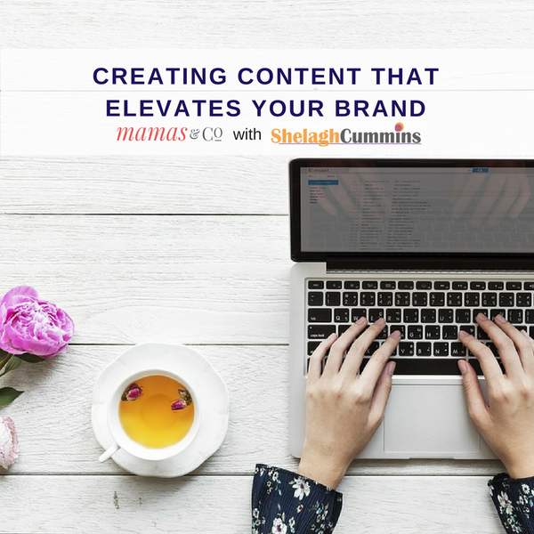 Webinar: Creating Content that Elevates Your Brand