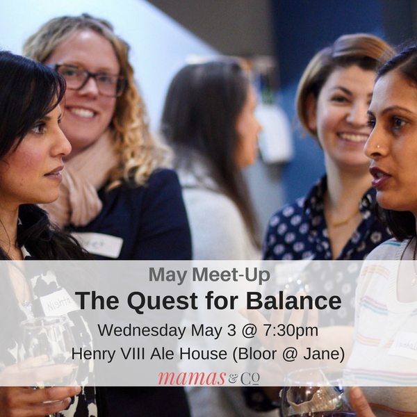 Meet-Up: The Quest for Balance