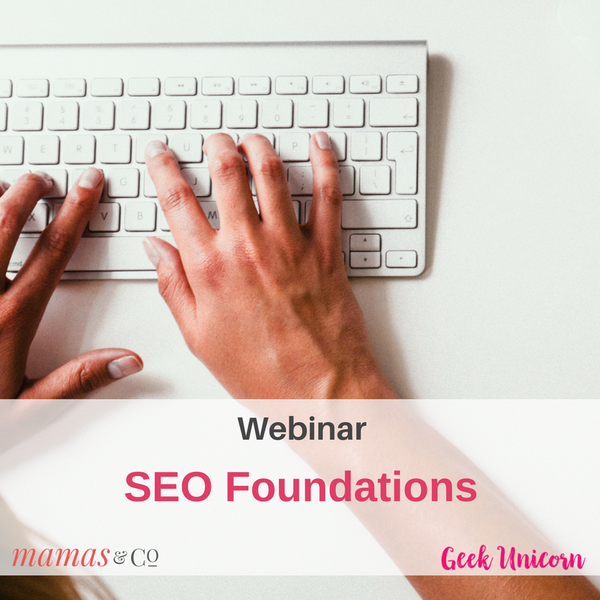 Webinar: SEO Foundations