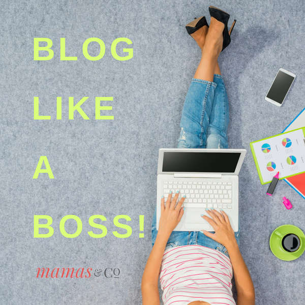 Webinar: Blog Like a Boss!