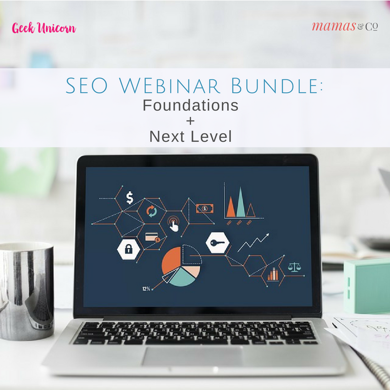 Webinar: SEO Foundations + Next Level 2-Webinar Bundle