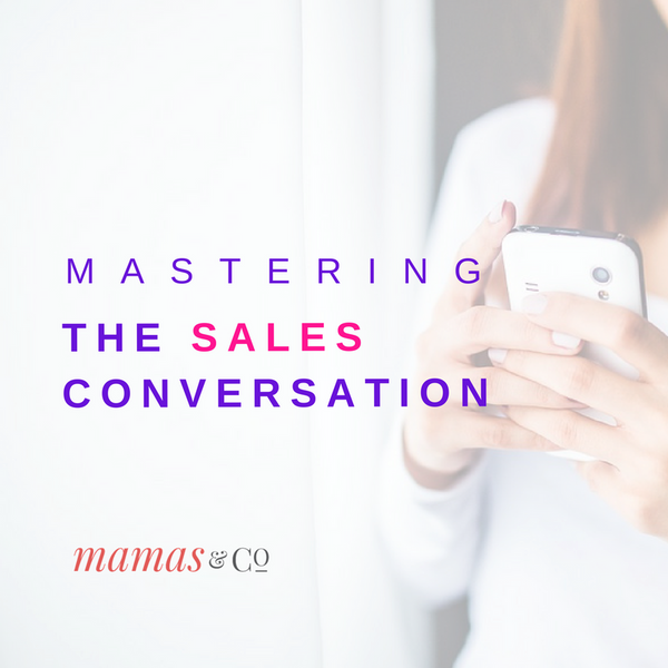 Webinar: Mastering the Sales Conversation