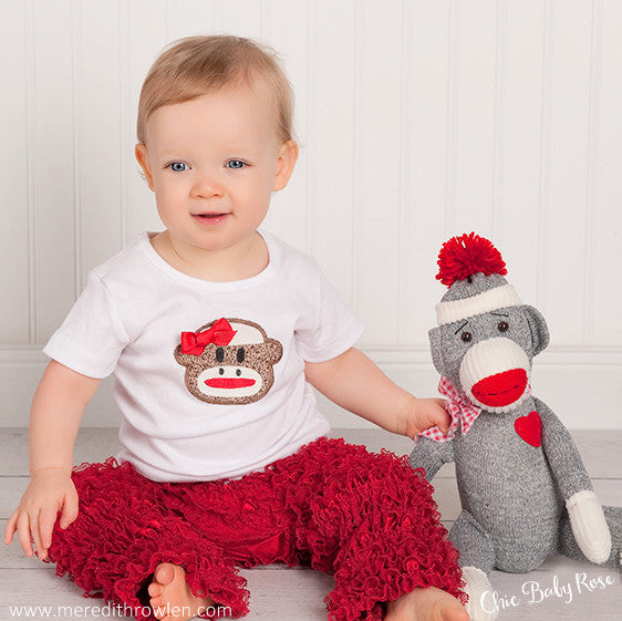 Sock Monkey Top