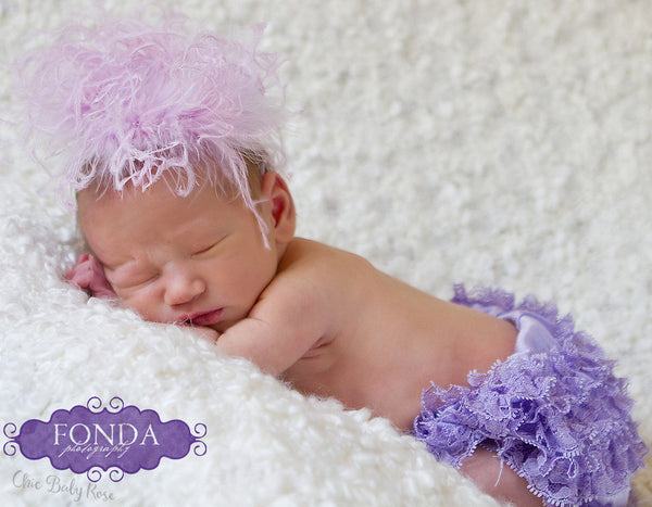 Newborn Lace Bloomer