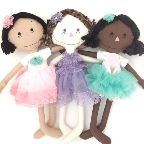 Build your own Petti Dress Rag Doll