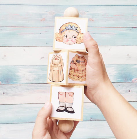 Dolly Twist Wooden Toy