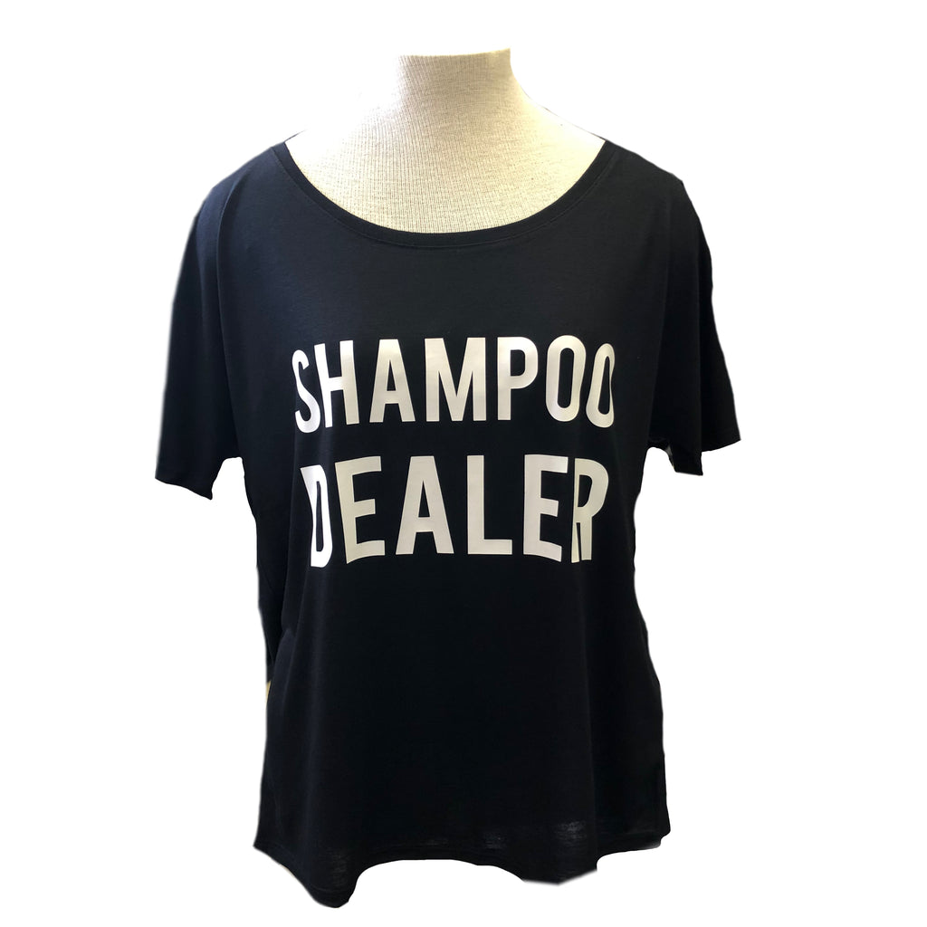 Monat Shampoo Dealer Black Women's Slouchy Tee