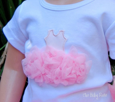 Fluffy Ballerina Top Available in 21 Colors