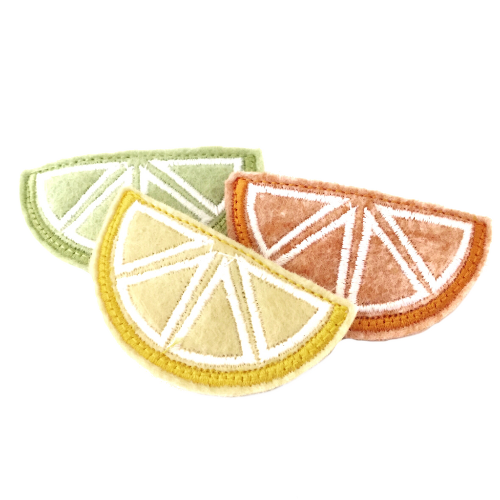 Citrus Hair Clips