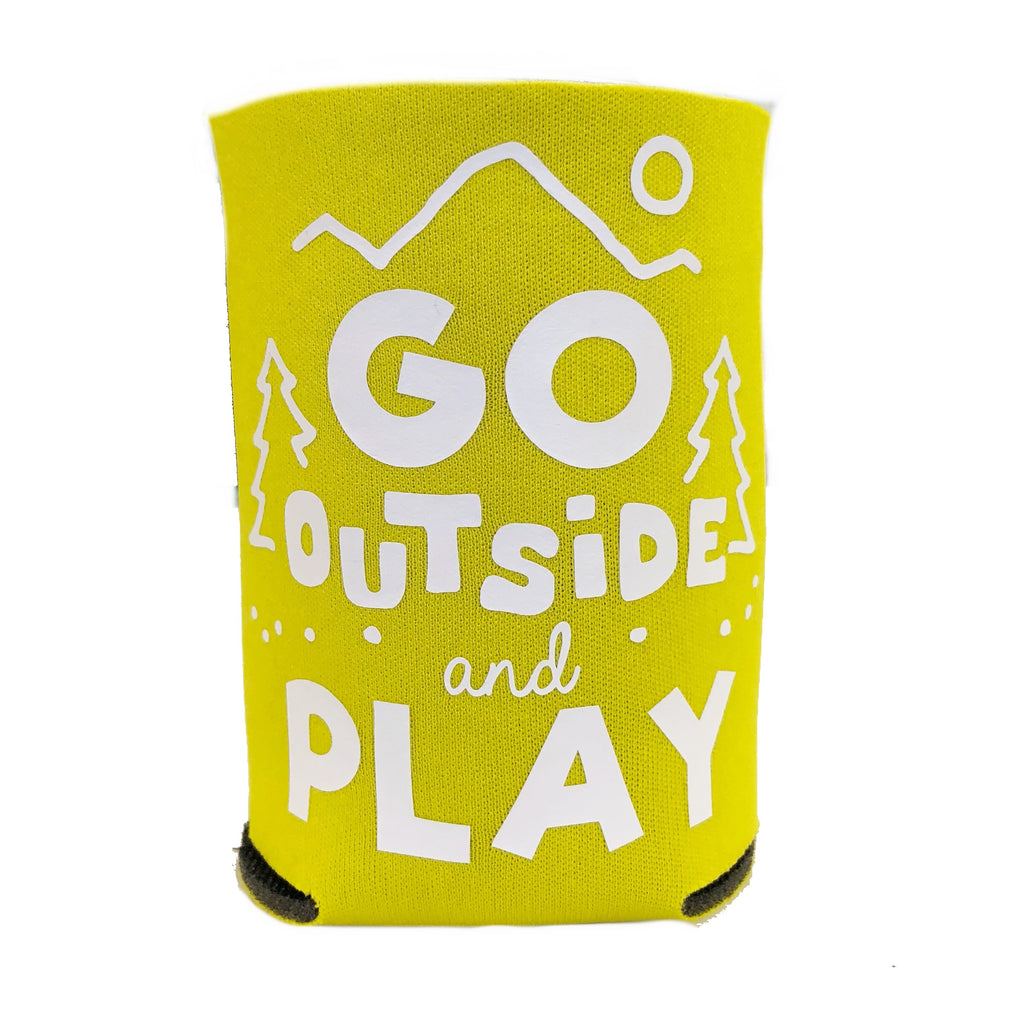 Coolie Can & Bottle Sleeve -  Go Outside and Play