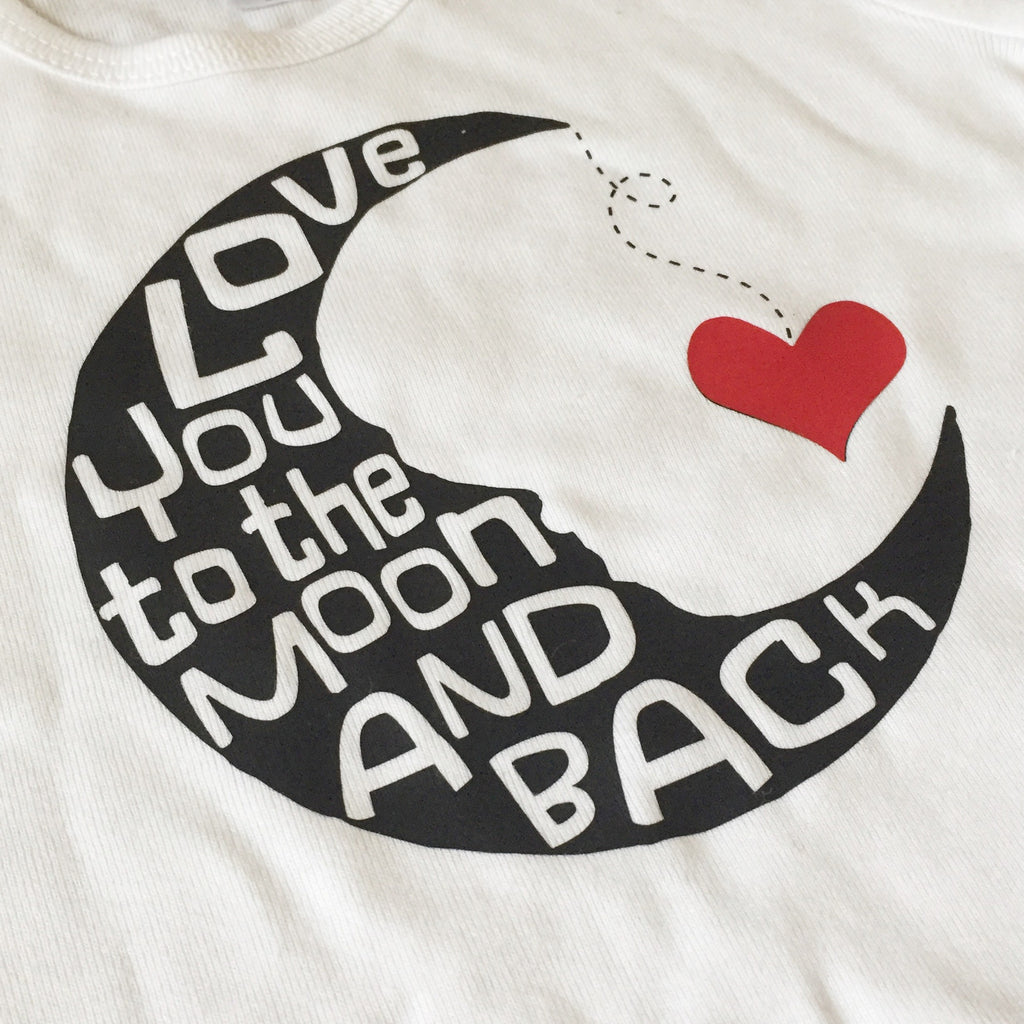 Love You to the Moon and Back Child Top