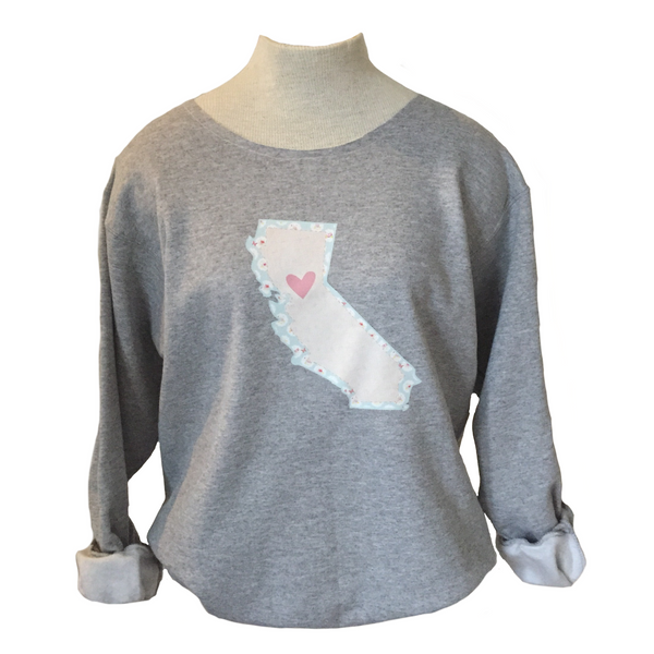 California Love Sweatshirt - Nor Cal and So Cal