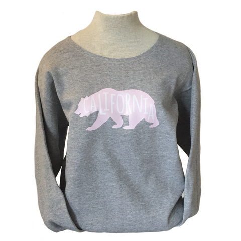 California Bear Sweatshirt in three colors
