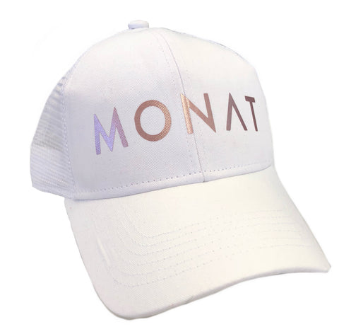 Monat White and Rose Gold Hat