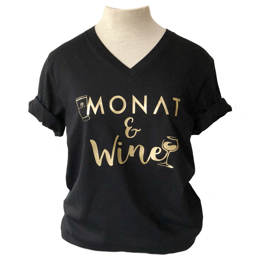 Monat and Wine Tee
