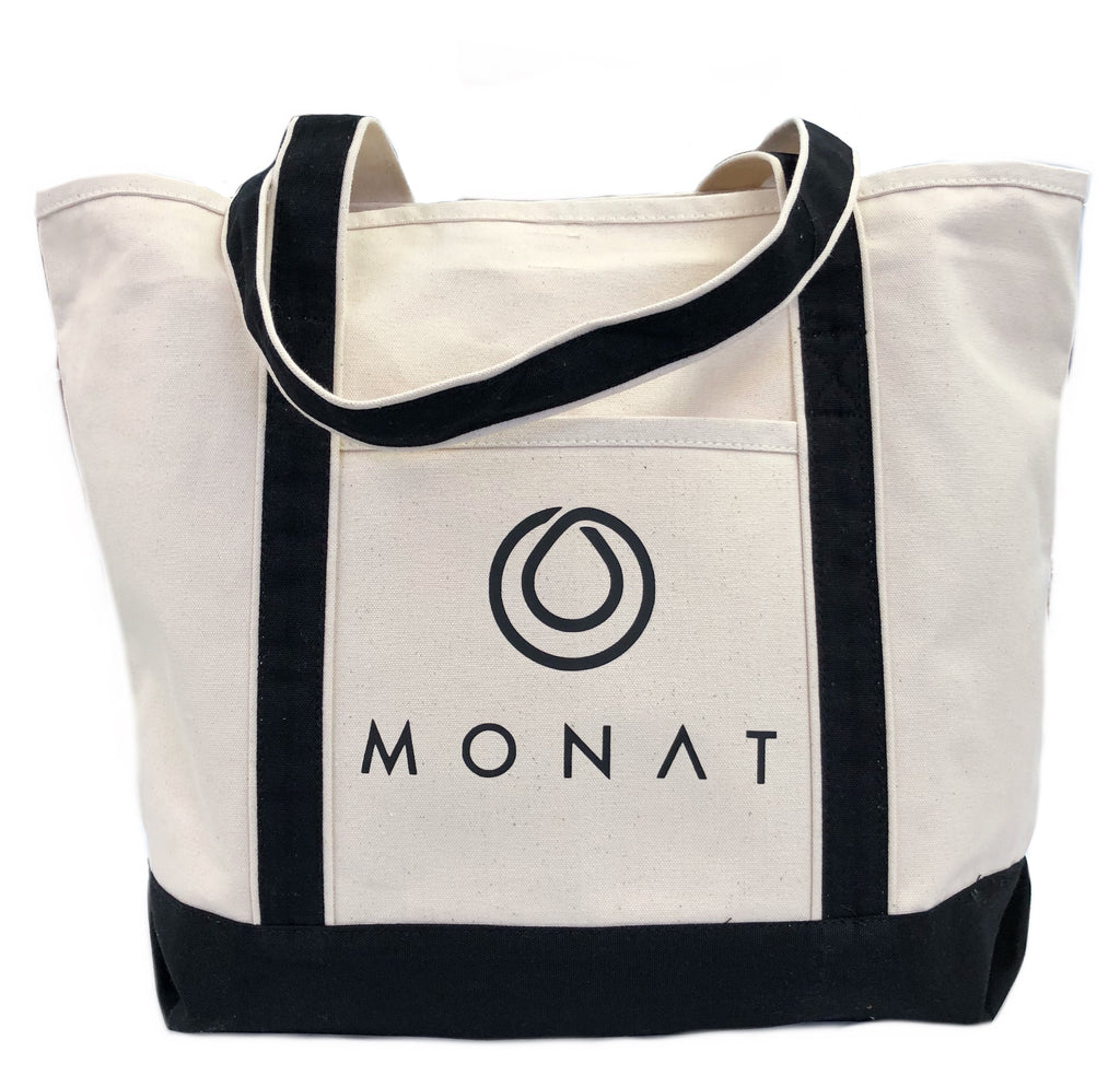 Monat Canvas Tote Bag