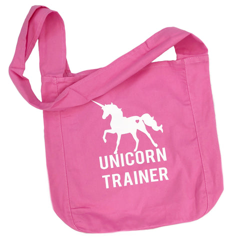 Unicorn Trainer Canvas Messenger Bag