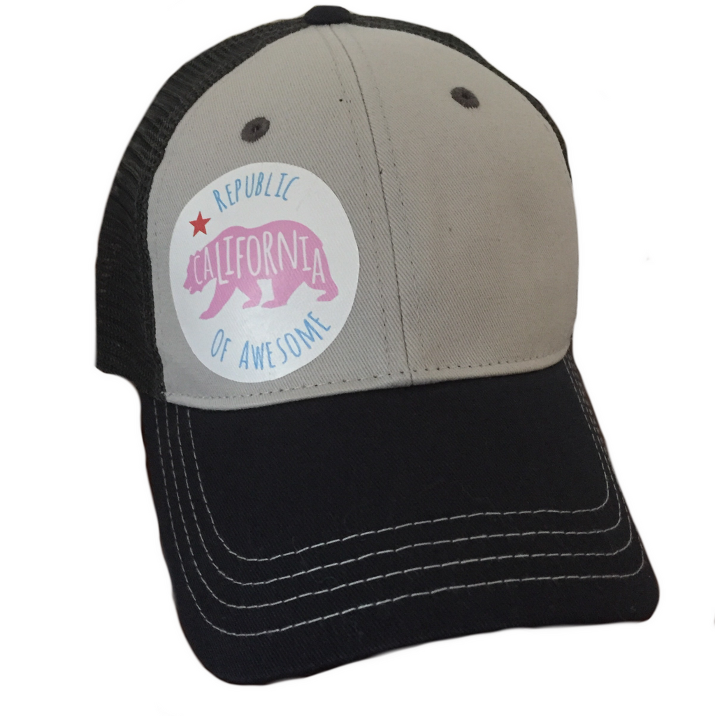 California Republic of Awesome Tritone Hat