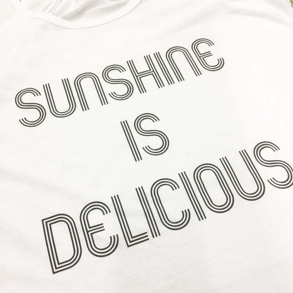 Sunshine is Delicious Adult Tank