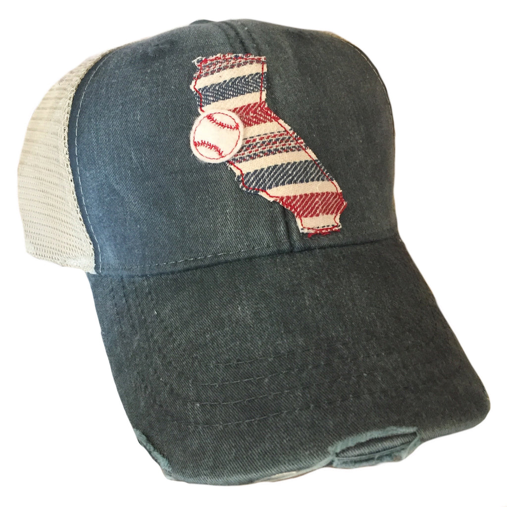 California USA Baseball Hat