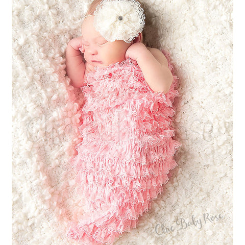 Newborn Lace Cocoon - Select Colors 50% Off