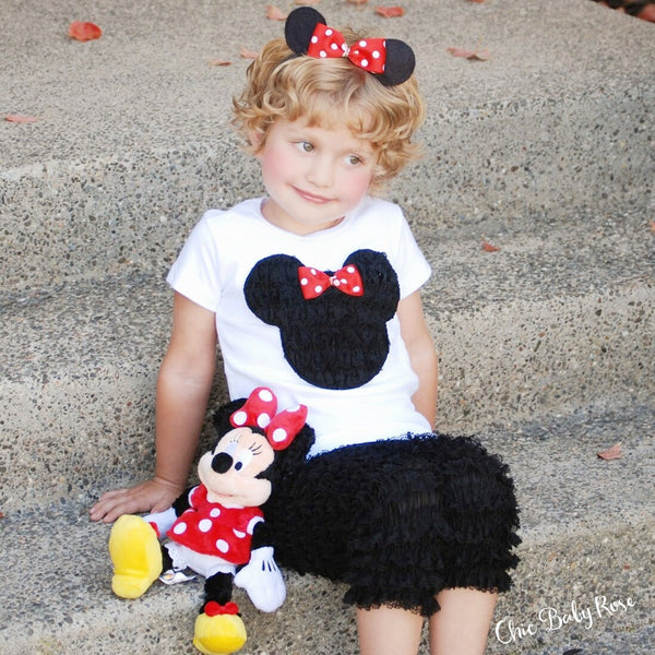 Wool Felt Minnie Ears