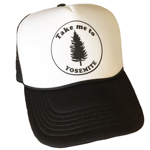 Take Me to Yosemite Trucker Hat More Colors