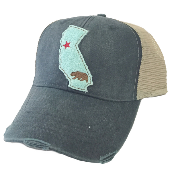 California Aqua State Hat More Colors