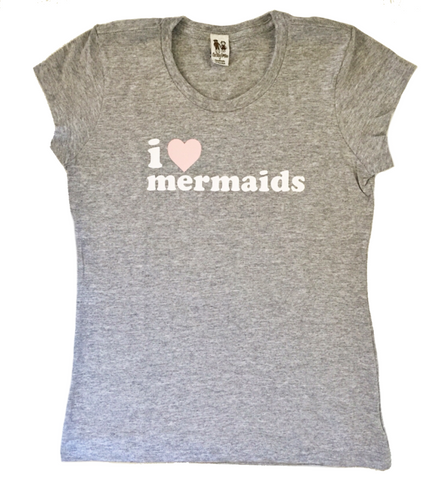I Love Mermaids Child Tee