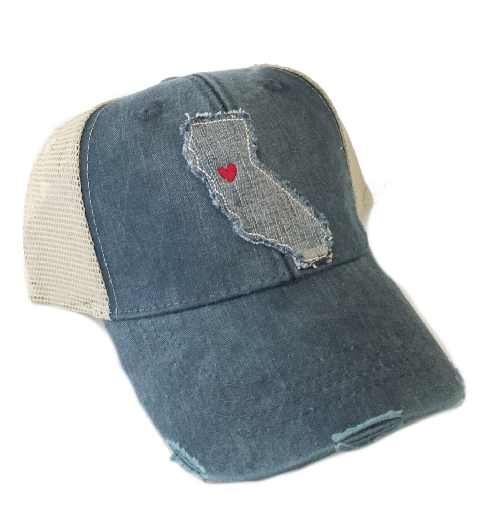 California Denim State Navy Hat